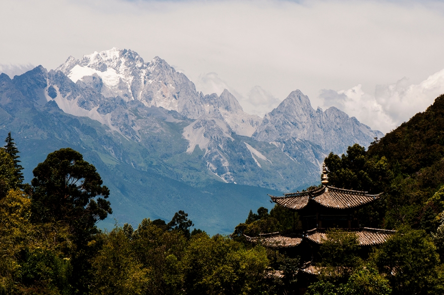 Jade Dragon Snow Mountain, Lijiang, China